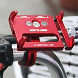 Недорогие -Велоспорт Мобильный телефон держатель стенд Регулируемая подставка Мобильный телефон Тип пряжки Металл Держатель