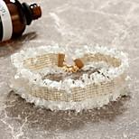 Недорогие -Жен. европейский Милая Мода Ожерелья-бархатки , Кружево Ткань Сплав Ожерелья-бархатки , Для вечеринок