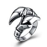 Недорогие -Муж. Массивные кольца , Классика На каждый день Крупногабаритные Нержавеющая сталь , Бижутерия Официальные Для клуба