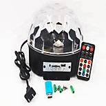 Недорогие -1 комплект 16W 9 светодиоды Пульт управления Светодиодные театральные лампы RGB AC 100-240 В