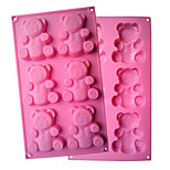 cheap -Cookie Cutters For Candy Cookie Cake Chocolate For Cookie Silica Gel DIY Valentine's Day Birthday Baking Tool