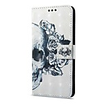 cheap -Case For Huawei Mate 10 pro Mate 10 lite Card Holder Wallet with Stand Flip Magnetic Pattern Full Body Skull Hard PU Leather for Mate 10