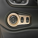 Недорогие -автомобильная кнопка фар включает в себя салоны интерьера для джипа-ренегата