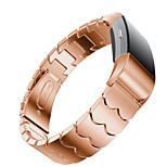 Недорогие -Ремешок для часов для Fitbit Charge 2 Fitbit Повязка на запястье Современная застежка Металл Нержавеющая сталь