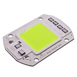 cheap -50W COB LED Light Chip 220V Smart IC Lamp for Outdoor FloodLight Downlight Green (1 Piece)