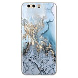 cheap -Case For Huawei P10 Plus P10 Lite Pattern Back Cover Lines / Waves Marble Soft TPU for P10 Plus P10 Lite P10 P9 P9 Lite P9 Plus P8 P8
