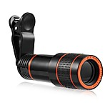 cheap -Mobile Phone Lens Long Focal Lens Optical Glass 12X Macro 3 30 Zoomable