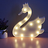 cheap -1pc LED Night Light Cold White AA Batteries Powered Easy Carrying