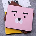 Недорогие -Кейс для Назначение iPad 9.7 (2017) Бумажник для карт со стендом С узором Авто Режим сна / Пробуждение Чехол Мультипликация Твердый для