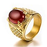 Недорогие -Муж. Массивные кольца Смола На каждый день Cool Мода Позолота Титан Сталь , Бижутерия Другое Повседневные