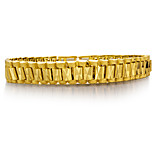 cheap -Men's Chain Bracelet Metallic Fashion Gold Plated Jewelry Party Gift