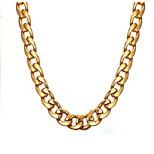 Недорогие -Муж. Круглый Мода Ожерелья-цепочки , Нержавеющая сталь Ожерелья-цепочки , Подарок Повседневные