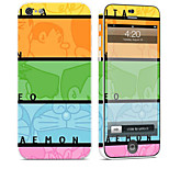 cheap -1 pc Skin Sticker for Scratch Proof Lolita Pattern PVC iPhone 5c