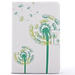 cheap -Case For Apple iPad mini 4 iPad Mini 3/2/1 Card Holder with Stand Pattern Auto Sleep/Wake Up Full Body Cases Dandelion Hard PU Leather for