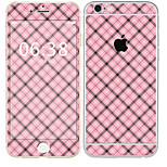 cheap -1 pc Skin Sticker for Scratch Proof Tile Pattern PVC iPhone 6s/6