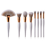 cheap -Make Up Blush Brush Lip Brush Synthetic Hair Eco-friendly Soft Full Coverage Wooden Nose Face