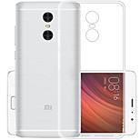 cheap -Case For Xiaomi Redmi 5 Ultra-thin Back Cover Solid Color Soft TPU for Xiaomi Redmi 5