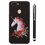 cheap -Case For Vivo vivo X20 Plus vivo X20 Pattern Back Cover Unicorn Animal Soft TPU for Vivo X20 Plus Vivo X20