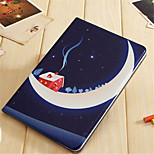 cheap -Case For Apple Shockproof with Stand Pattern Auto Sleep/Wake Up Cartoon Hard PU Leather for iPad Mini 4 iPad Mini 3/2/1 iPad 4/3/2