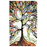 cheap -Case For Amazon Kindle Fire 7(5th Generation, 2015 Release) Card Holder with Stand Flip Pattern Full Body Cases Tree Hard PU Leather for