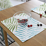 cheap -Graphics Cotton/Polyester Square Placemat Table Decorations