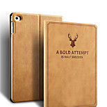 cheap -Case For iPad Pro 12.9'' iPad Pro 9.7'' iPad Air 2 iPad 10.5 Shockproof with Stand Pattern Full Body Solid Color Word / Phrase Hard PU