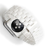 cheap -Watch Band for Apple Watch Series 3 / 2 / 1 Apple Classic Buckle Ceramic Wrist Strap