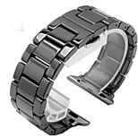 Недорогие -Ремешок для часов для Apple Watch Series 3 / 2 / 1 Apple Бабочка Пряжка Керамика Повязка на запястье
