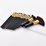 cheap -15pcs Powder Brush Eyeliner Brush Blush Brush Makeup Brush Set Synthetic Hair Full Coverage Beech Wood Face Nose