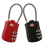 cheap -yuhuaze luggage cipher padlock 3 digital cipher lock for cupboard/gym & sports locker/drawer one pair of clothes