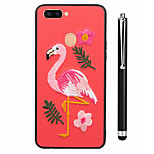 cheap -Case For OPPO Oppo R9s Oppo R11s Pattern Back Cover Full Body Cases Flamingo Animal Soft TPU for OPPO R11s Plus OPPO R11s OPPO R11 Plus