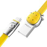 Недорогие -Подсветка Адаптер USB-кабеля Быстрая зарядка Кабель Назначение Телефоны Android 100 cm сплав цинка