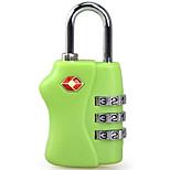 cheap -TSA338 Padlock Plastics Metalic for Drawer Gym & Sports Locker Cupboard Luggage