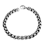 cheap -Men's Chain Bracelet , Fashion Stainless Steel Geometric Jewelry Gift Daily