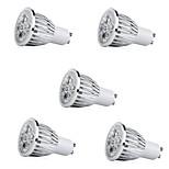 Недорогие -5 шт. 7 Вт. 500 lm E14 GU10 E26/E27 Точечное LED освещение 5 светодиоды Высокомощный LED Декоративная Светодиодные фонарики Тёплый белый
