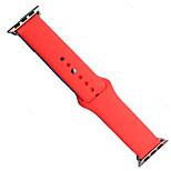Недорогие -Ремешок для часов для Apple Watch Series 3 / 2 / 1 Apple Современная застежка силиконовый Повязка на запястье
