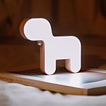 Недорогие -1шт LED Night Light Перезаряжаемый С портом USB Встроенная литий-батарея Холодный белый