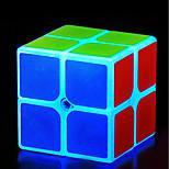 Недорогие -Кубик рубик 2*2*2 Спидкуб Кубики-головоломки головоломка Куб Стресс и тревога помощи Товары для офиса Фосфоресцирующий Классика Квадратный
