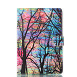 cheap -Case For Apple iPad mini 4 iPad Mini 3/2/1 with Stand Flip Pattern Auto Sleep/Wake Up Full Body Cases Tree Hard PU Leather for iPad Mini