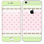 Недорогие -1 ед. Наклейки для Защита от царапин Плитка Узор PVC iPhone 6s/6
