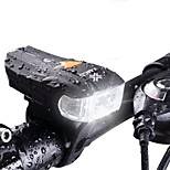 cheap -600LM XPG + 2 LED Bicycle German Standard Smart Sensor Warning Light Waterproof Bike Front Light Headlight Night Riding