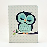 cheap -Case For Apple iPad Air 2 iPad Air iPad 4/3/2 with Stand Flip Pattern Auto Sleep/Wake Up Full Body Cases Owl Hard PU Leather for iPad