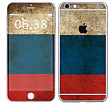 cheap -1 pc Skin Sticker for Scratch Proof Flag Pattern PVC iPhone 6s Plus/6 Plus