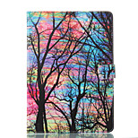 cheap -Case For Apple iPad 10.5 iPad (2017) Wallet with Stand Flip Pattern Auto Sleep/Wake Up Full Body Cases Tree Hard PU Leather for iPad