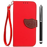 cheap -Case For OPPO Oppo F5 Oppo A57 Card Holder Wallet with Stand Flip Full Body Cases Solid Color Hard PU Leather for OPPO F5 OPPO A59 OPPO