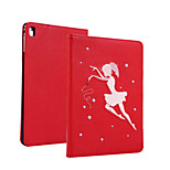 cheap -Case For Apple iPad mini 4 Shockproof with Stand Pattern Full Body Cases Cartoon Hard PU Leather for iPad Mini 4 iPad Mini 3/2/1