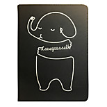cheap -Case For Apple iPad Air 2 iPad mini 4 iPad (2017) Shockproof with Stand Pattern Auto Sleep/Wake Up Cartoon Hard PU Leather for iPad Pro