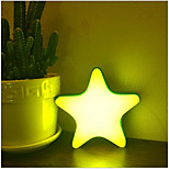 cheap -1pc LED Night Light Yellow Built-in Li-Battery Powered USB Port Remote Controlled Rechargeable