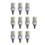 abordables -10pcs 3.5W 280 lm E12/E14 Bombillas LED de Mazorca 60 leds SMD 2835 Luces LED Blanco AC 110-120V