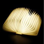 Недорогие -1шт Книга LED Night Light RGB Встроенная литий-батарея Складной Перезаряжаемый Декоративный свет С портом USB Простота транспортировки